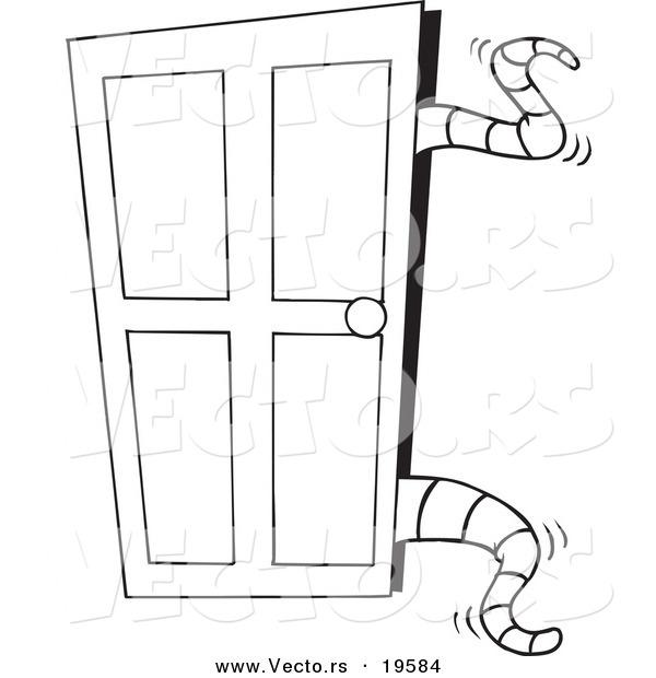 Раскраска дверей своими руками 64
