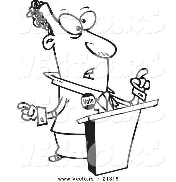 Cartoon Images Politicians a Cartoon Black Politician