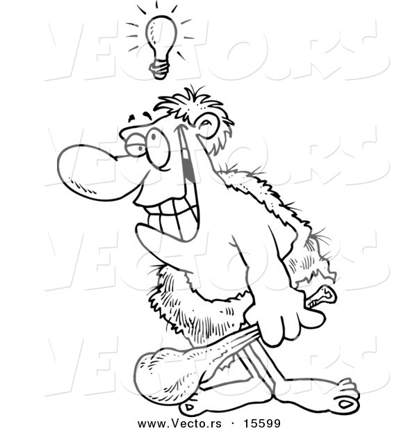 caveman coloring pages - photo#28