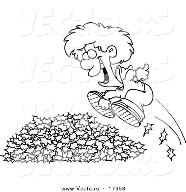 Vector of a Cartoon Li...