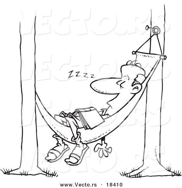 free clipart hammock cartoon - photo #49