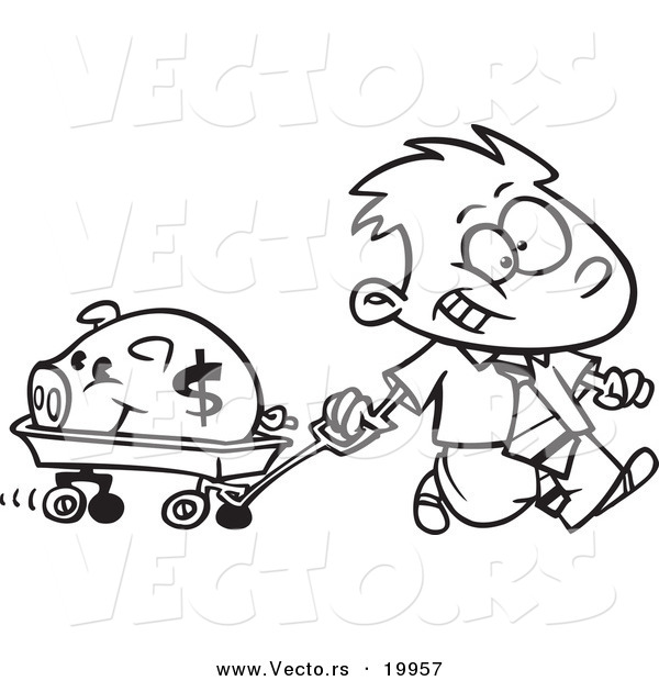 banking coloring pages for kids - photo#25