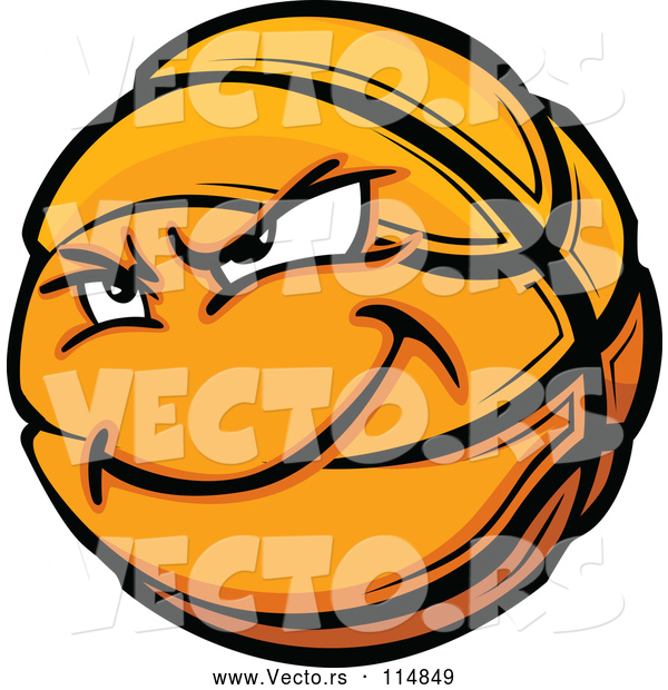 Vector of Basketball Mascot