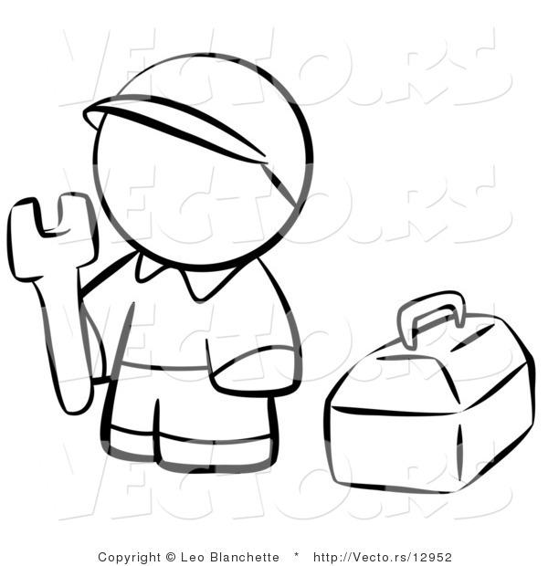 Tool Box Coloring Page Tool Box Coloring Page