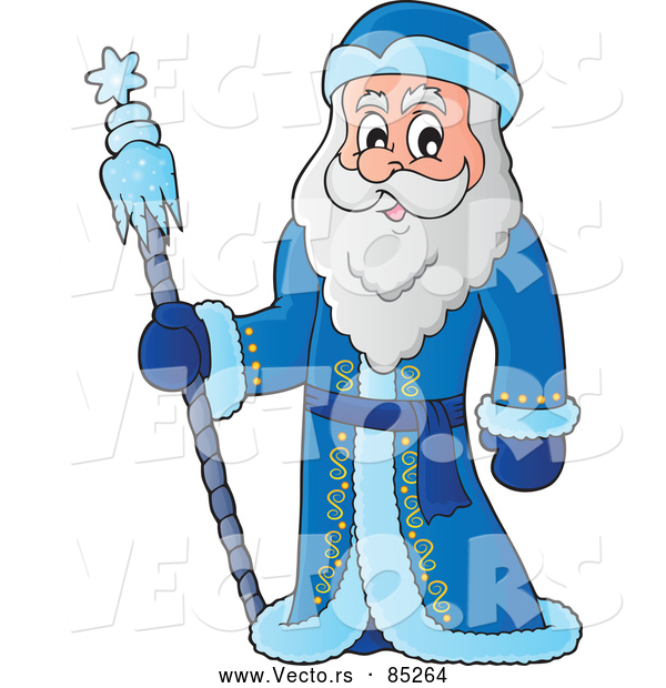 Vector of Father Frost Smiling