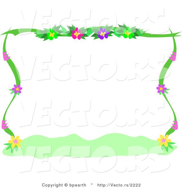 Free Flower Borders Clip Art
