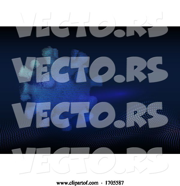 Vector of Medical Background with Abstract Covid 19 Virus Cell