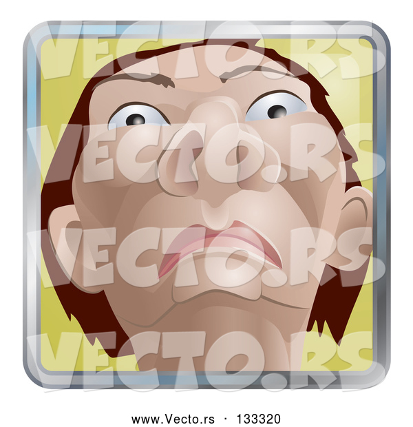 : Vector of Native American Indian Guy from a Low View