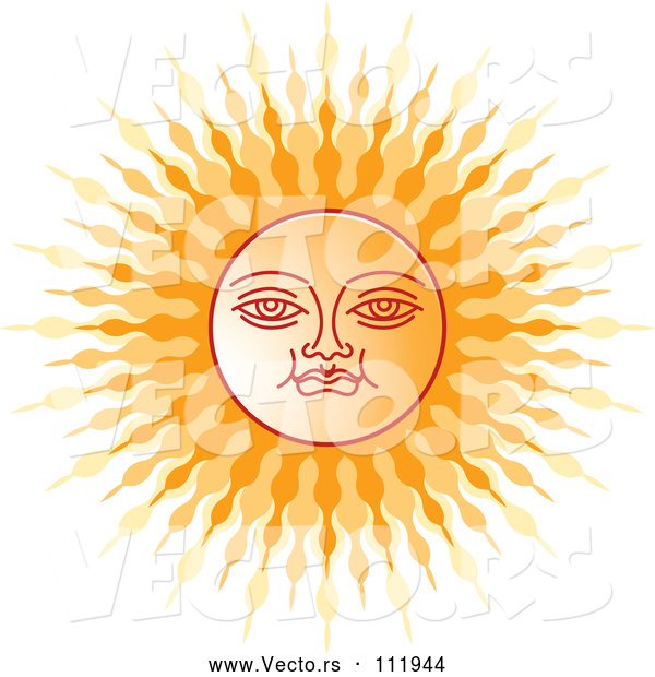 Vector of Sinhalese New Year Sun