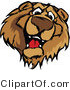Cartoon Vector of a Friendly Brown Bear Mascot by Chromaco
