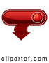 Vector of 3d Red Download App Button by MilsiArt