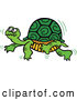 Vector of Cartoon Turtle Walking Slowly by by Zooco