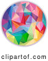Vector of Colorful Geometric Circle by BNP Design Studio