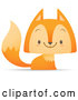 Vector of Fox Smiling by Qiun