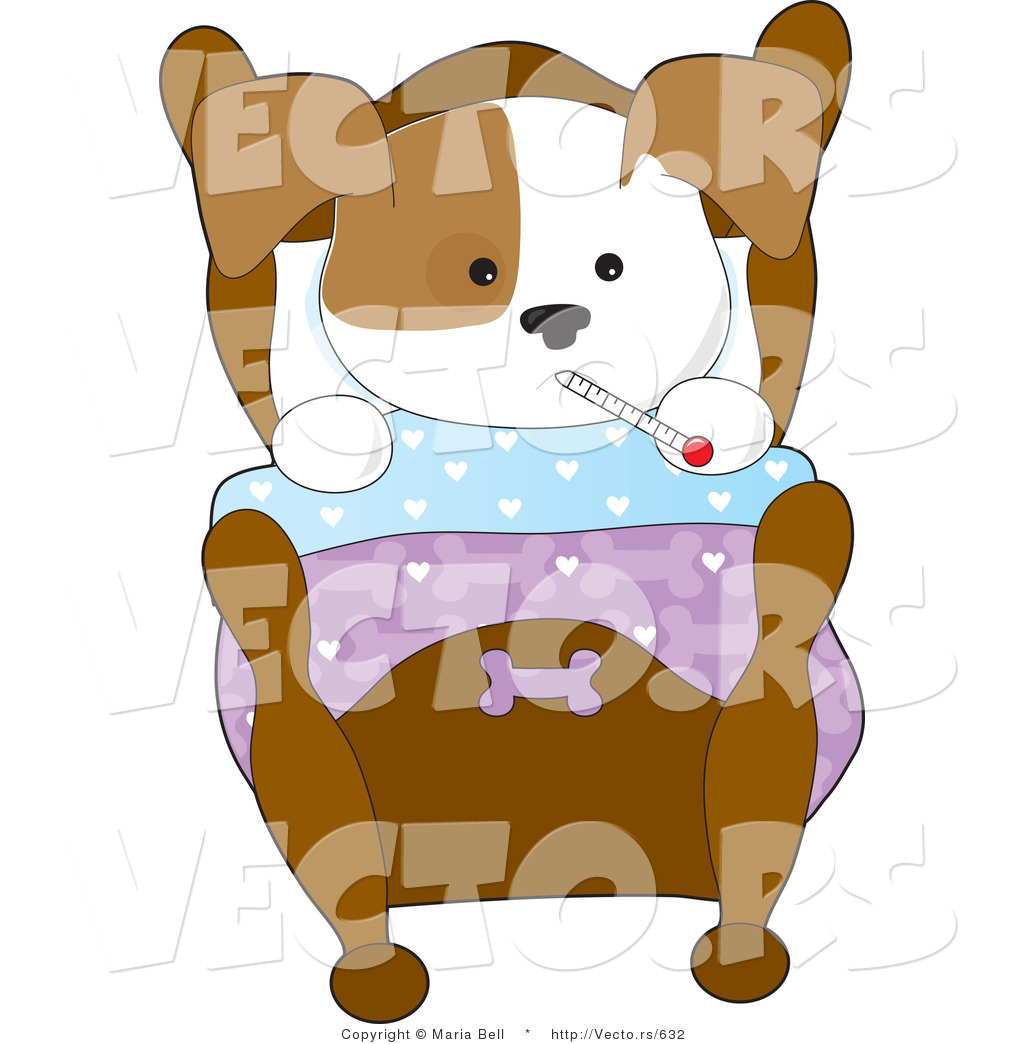 clipart dog in bed - photo #46