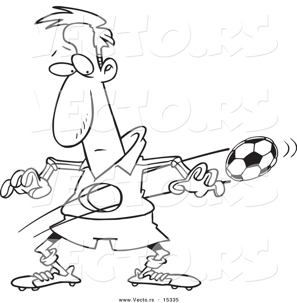 Pretty Coloring Pages Soccer Player Images - Example Resume and ...