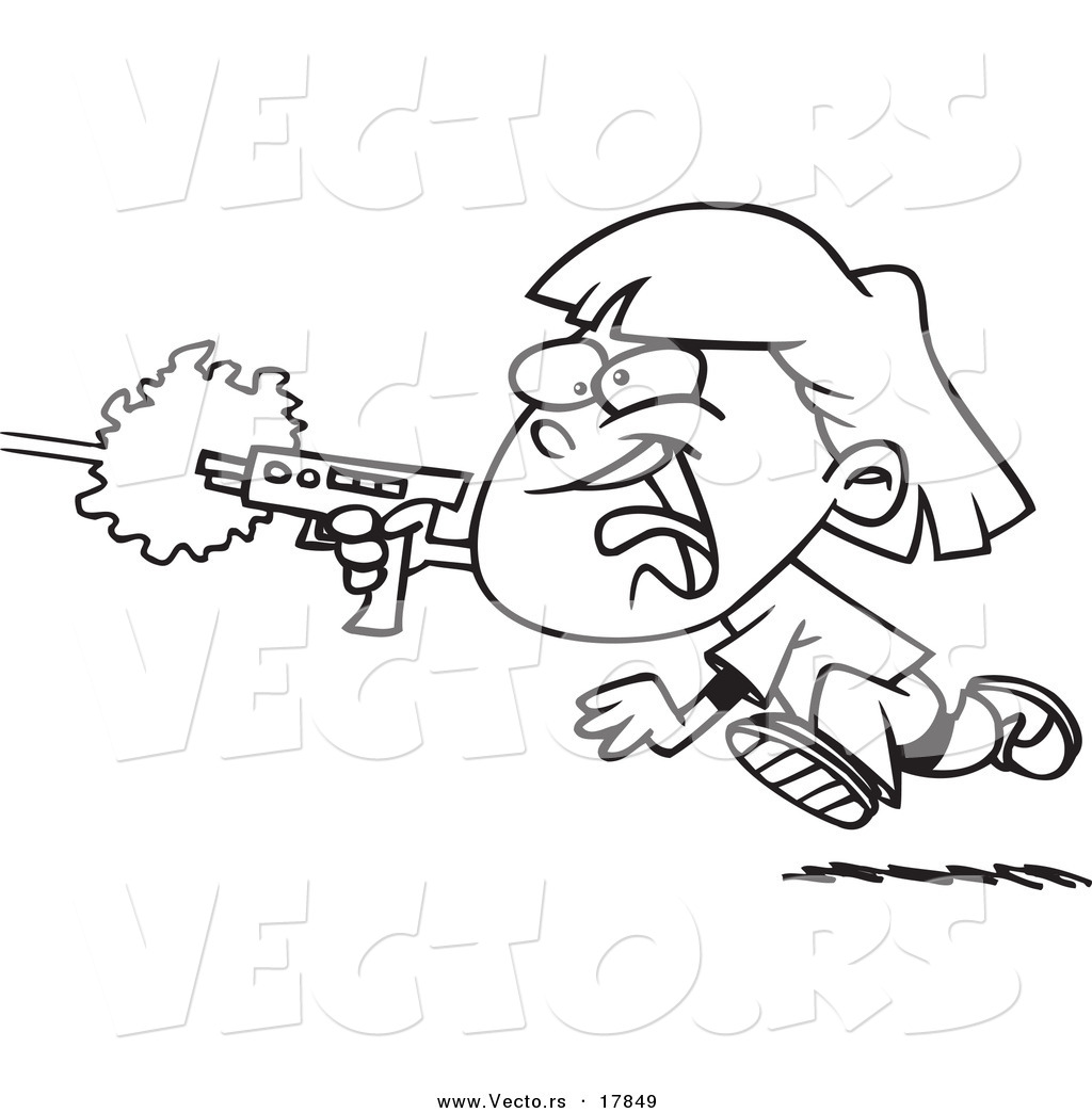 laser tag coloring pages - photo#7