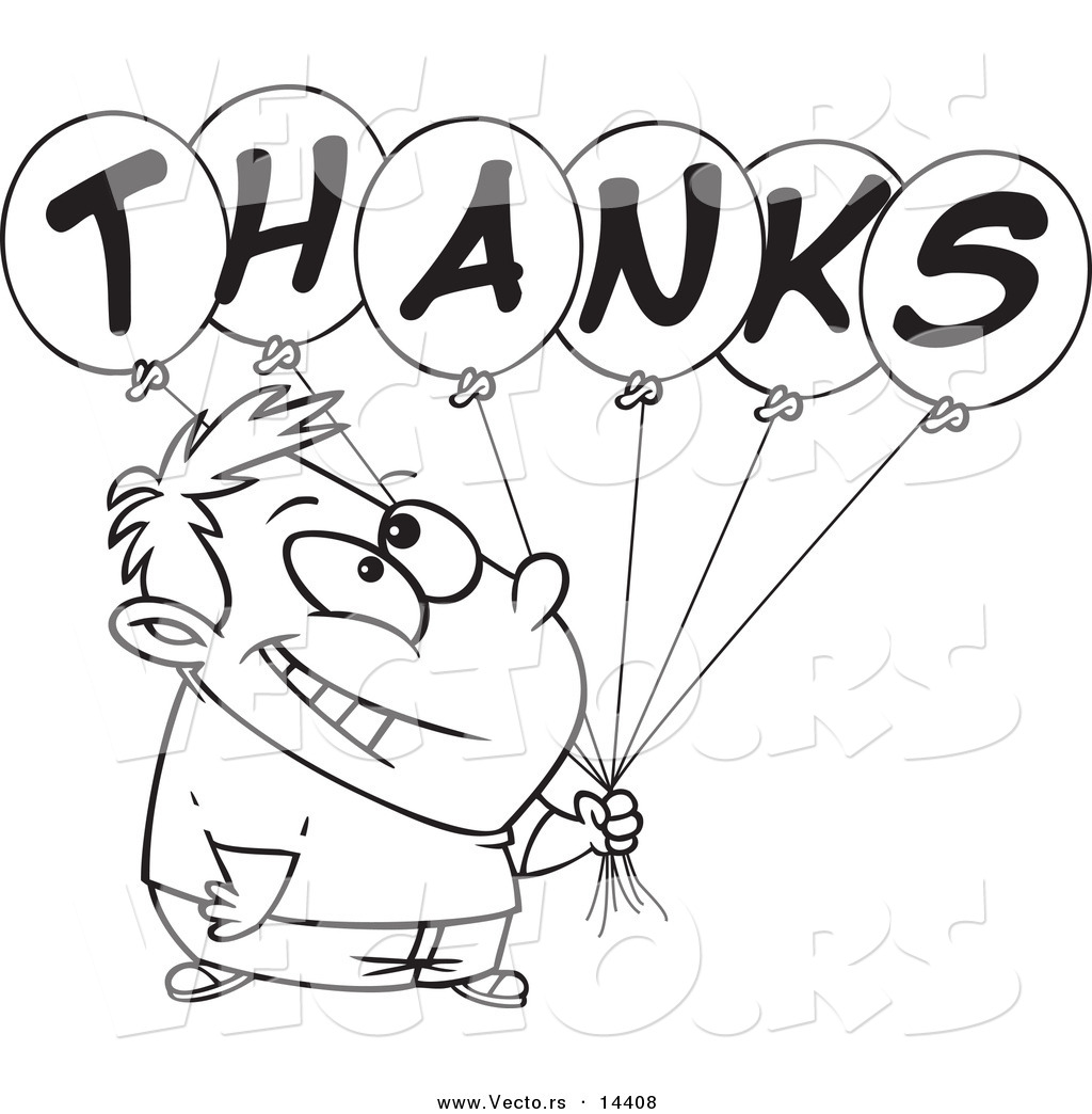 Coloring pages thank you