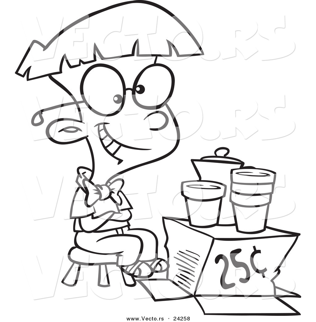 Free lemonade coloring pages coloring pages for Lemonade coloring page