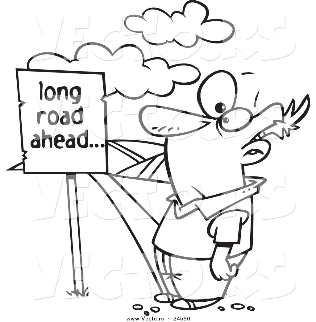 long road ahead clip art � cliparts