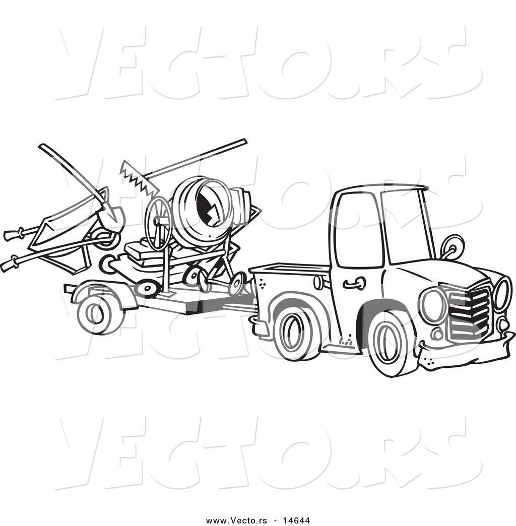 Landscape Truck Clip Art Cliparts
