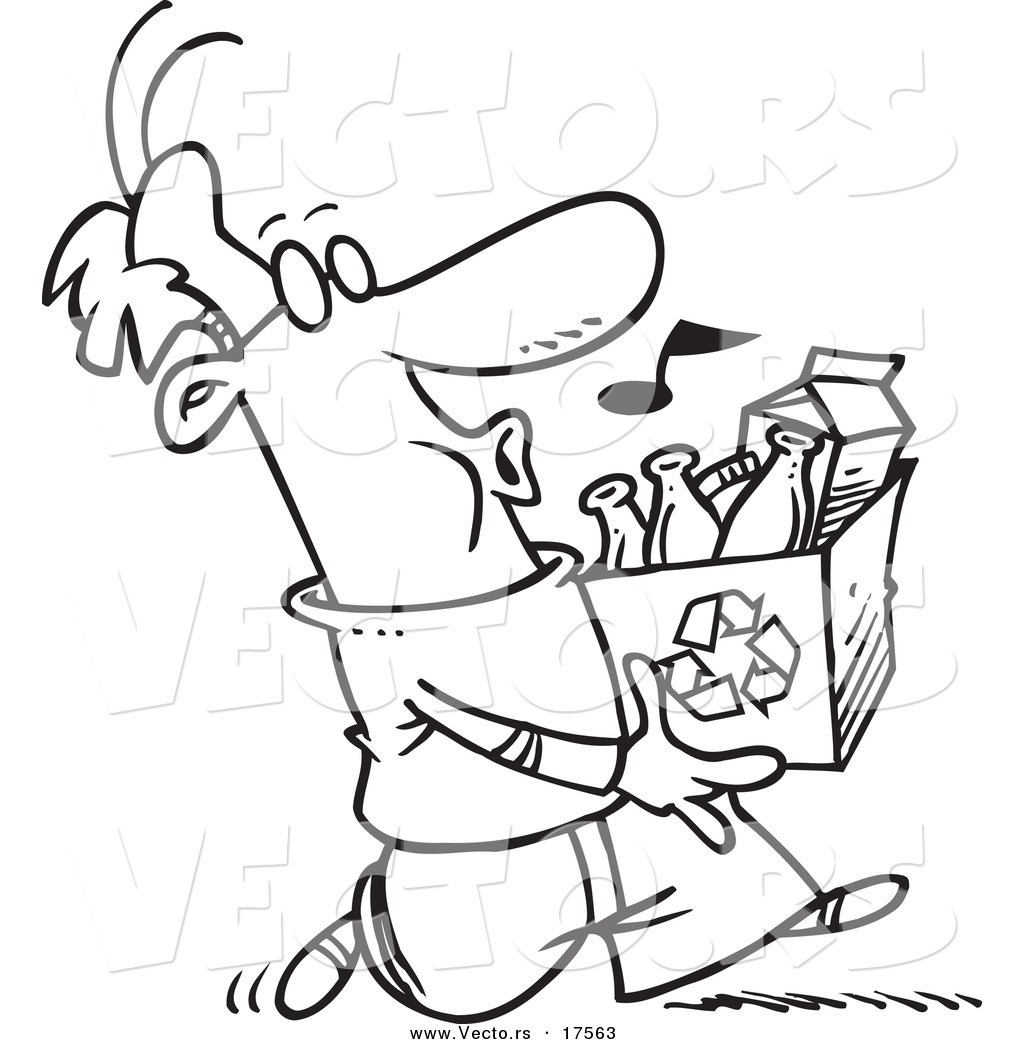 recycling coloring pages coloring page with recycling coloring