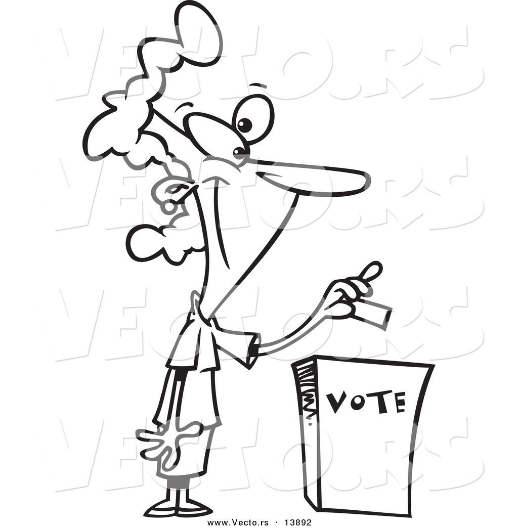 Kid Boy Election Voting vector illustration © lenm (#7201272)   Stockfresh