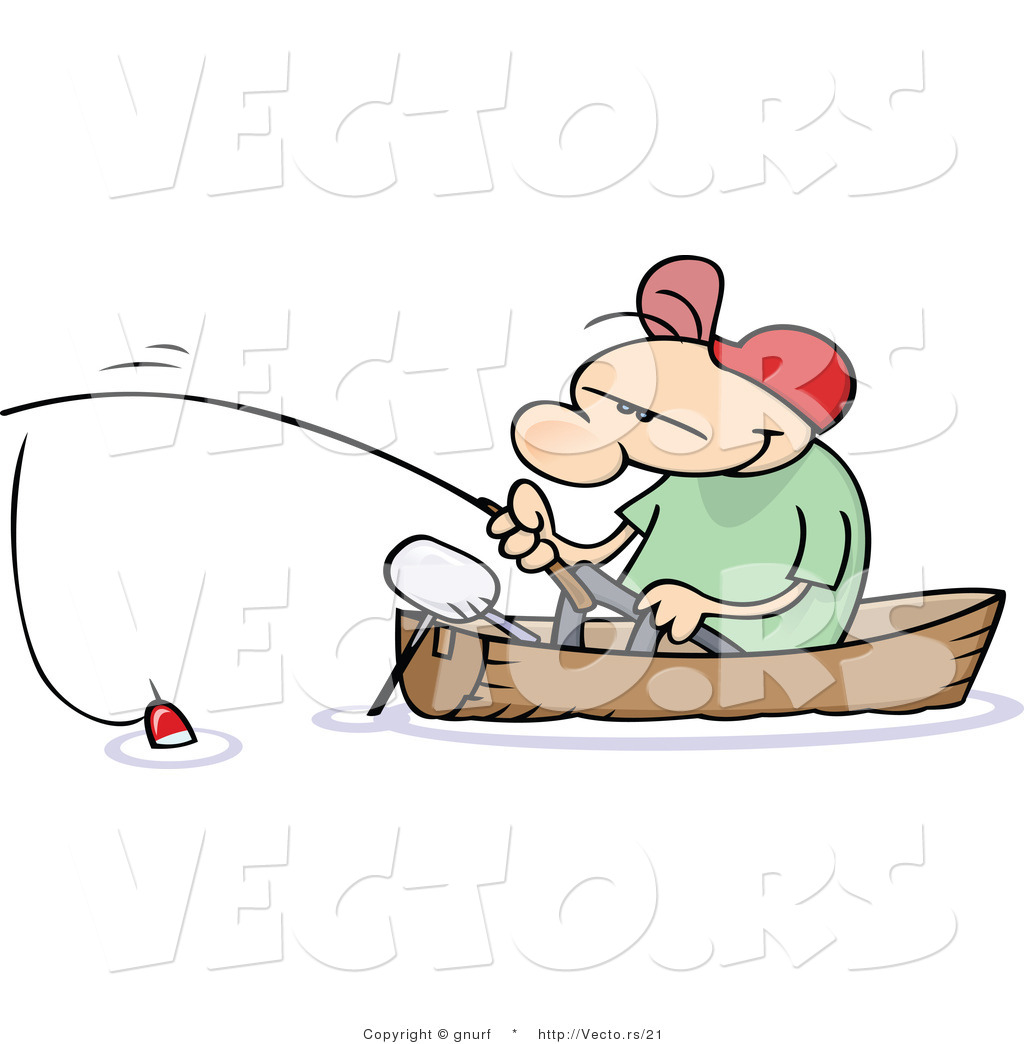 Blue Cartoon Fishing Boat Png And Psd
