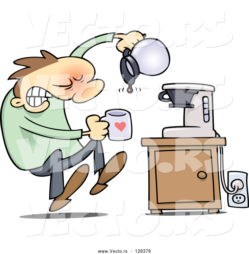 Broken Coffee Pot Clipart Images Gallery