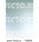 Vector of Background or Backdrop of Dts on Gradient Green by Dero