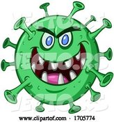 Vector of Evil Grinning Green Virus by Yayayoyo