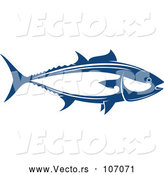 Vector of Tuna Fish Seafood Design by Vector Tradition SM